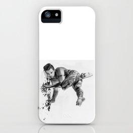 Oil Man iPhone Case