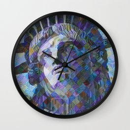 Lady Liberty Wall Clock