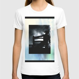 Cowboy In The Misty Night T-shirt