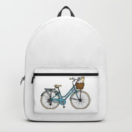 bike and Cats Backpack