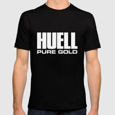 Huell Howser Pure Gold California Black Mens Fitted Tee 2X-LARGE
