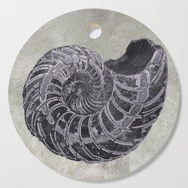 Ammonite study Cutting Board
