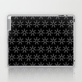 Scissors Star (black) Laptop & iPad Skin