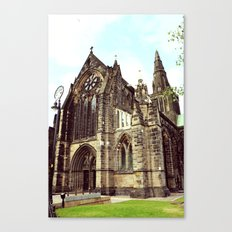 glasgow cathedral medieval cathedral Canvas Print