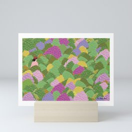 Mrs. Spring Mini Art Print