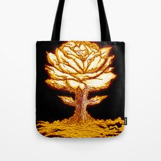 Atomic Bloom Tote Bag