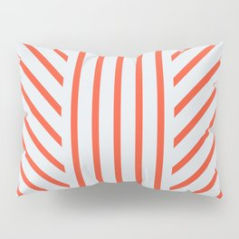Lined Red Pillow Sham