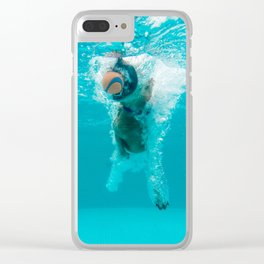 Shark Alert Clear iPhone Case