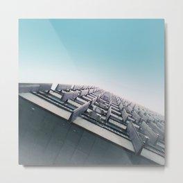 Keyboard in the sky Metal Print