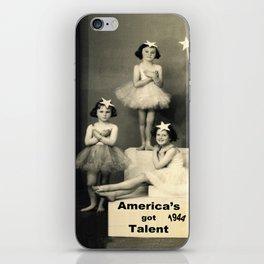 "America's got talent ~ 1944 ""The Play""  iPhone Skin"