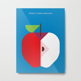 Fruit: Apple Metal Print
