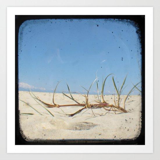 Sand Dunes - Through The Viewfinder (TTV) #2 Art Print