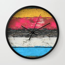 Country Pop 2 Wall Clock