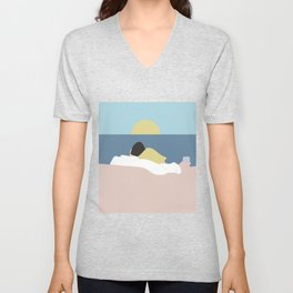 Feelings into sunset Unisex V-Neck