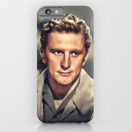 Kirk Douglas, Vintage Actor iPhone Case