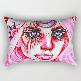 Red Dream Rectangular Pillow