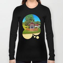A chapel besides the garden Long Sleeve T-shirt