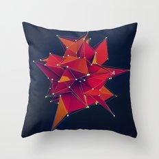 Architecture Polygons Throw Pillow