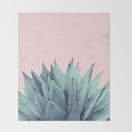 Agave Vibes #12 #tropical #decor #art #society6 Throw Blanket