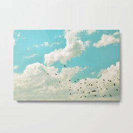 Dreams So High Metal Print