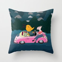 LOS PENCALES EN VIVO!!! Throw Pillow
