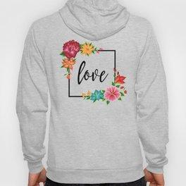 Floral Love II. Hoody
