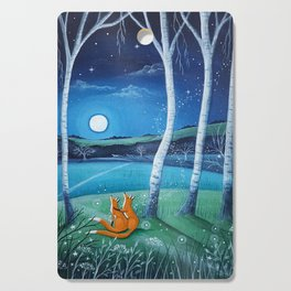 Moon gazers Cutting Board