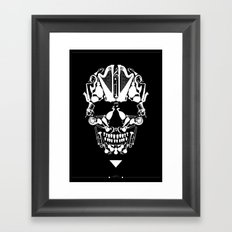 MUSICAL SKULL Framed Art Print