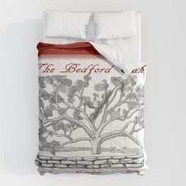 The Bedford Oak Zentangle Illustration Comforters