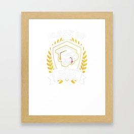 Class-of-2024---Class-of-2024-Graduation-T-Shirt Framed Art Print