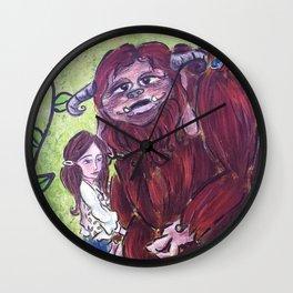 Sarah and Ludo Wall Clock
