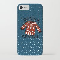 sweater iPhone & iPod Cases featuring Sweater by Mr and Mrs Quirynen