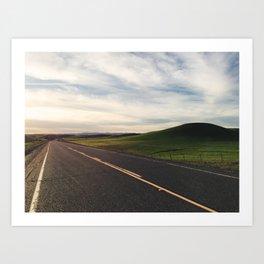 Country Road 14 Art Print