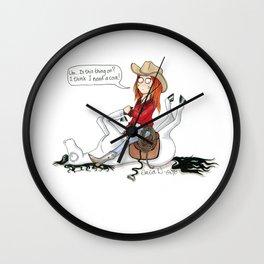 Insert coin Wall Clock