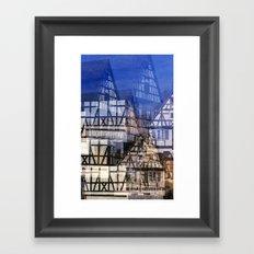 Fachwerk #1 Framed Art Print