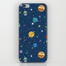 Out Of This World Cuteness (dark) iPhone & iPod Skin
