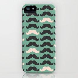 Mustache Life 2 iPhone Case