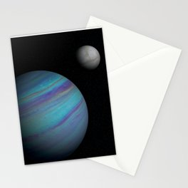 Kepler 421b, An Ice Giant Stationery Cards