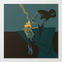 discworld Canvas Prints featuring Adora Belle by grrrenadine
