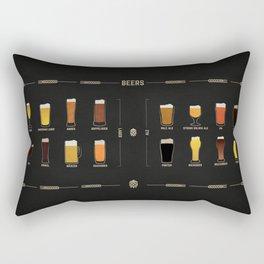 Beer Guide Rectangular Pillow
