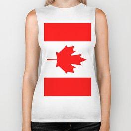 Flag of Canada Biker Tank