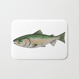Rainbow Trout Bath Mat