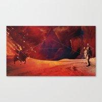 skyfall Canvas Prints featuring SkyFAll by Høssam Møustafa