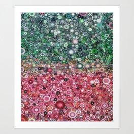 :: Watermelon Glass :: Art Print