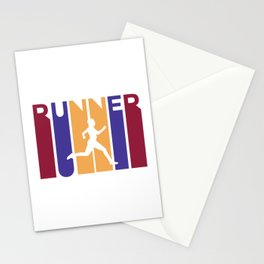 Runner Stationery Cards