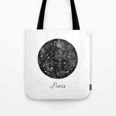 Pisces Constellation Tote Bag