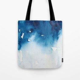 Blue WINTER #5 Tote Bag