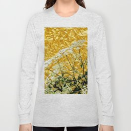 GOLDEN LACE FLOWERS FROM SOCIETY6 BY SHARLESART. Long Sleeve T-shirt