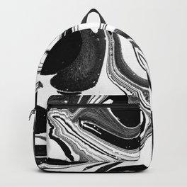 Marbled Black & White II Backpack
