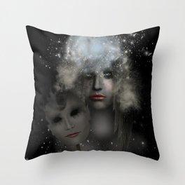End Of Silence Throw Pillow